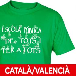 Camisetas/sudaderas Escuela Pública Català-Valencià