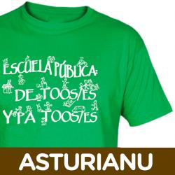 Camisetas/sudaderas Escuela Asturianu