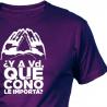 Camiseta MAREA VIOLETA