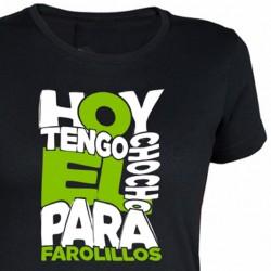 Camiseta Chica Chocho Para Farolillos