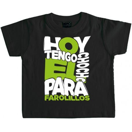 Camiseta Niño Chocho para Farolillos