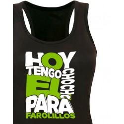 Camiseta tirantes Chocho para Farolillos