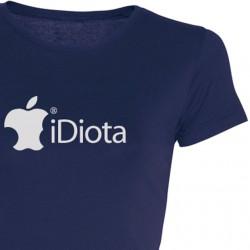 Camiseta Chica iDiota
