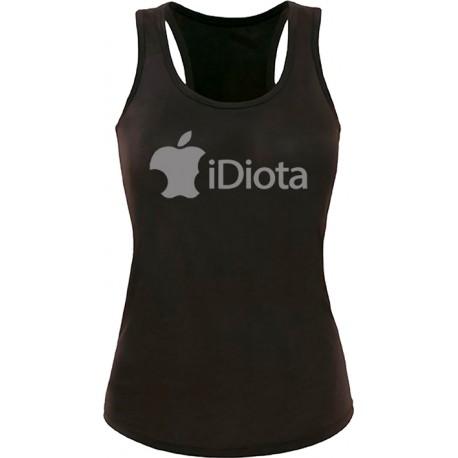 Camiseta tirantes iDiota