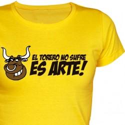 Camiseta chica El Torero No sufre