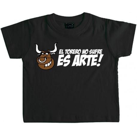 Camiseta Niño El torero No sufre