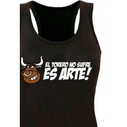 Camiseta tirantes El torero No sufre