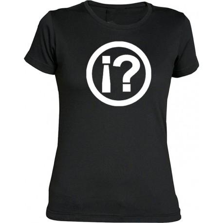 Camiseta chica ¿LO QUÉ..?