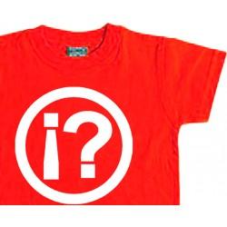 Camiseta niño  ¿LO QUÉ..?