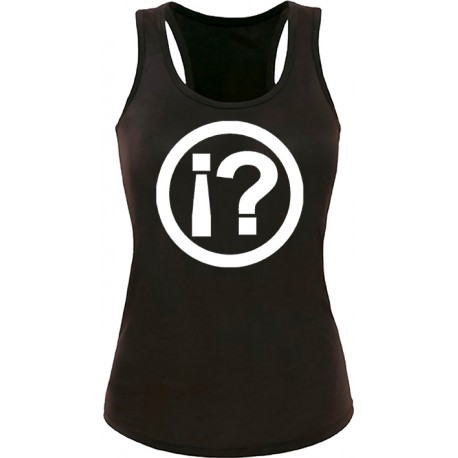 Camiseta tirantes ¿LO QUÉ..?