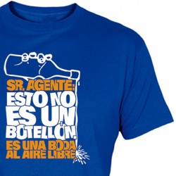 Camiseta Botellón