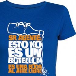 Camiseta chica Botellón