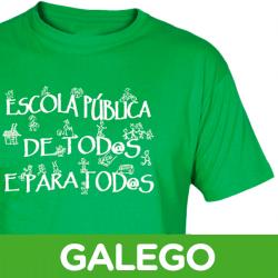 Camisetas/sudaderas Escuela Pública Galego