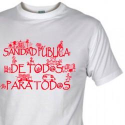 Camisetas/sudaderas SANIDAD PÚBLICA