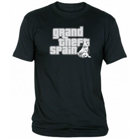 Camiseta Grand Theft Spain