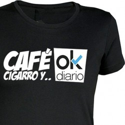 Camiseta Chica Ok Diario