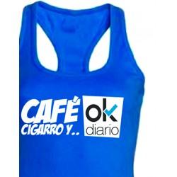 Camiseta Nadadora Ok Diario