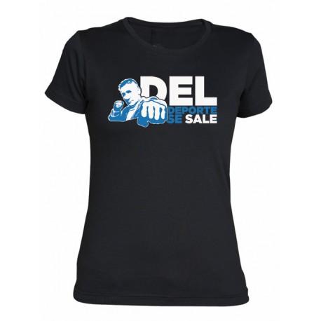 Camiseta Chica Del Deporte Se Sale