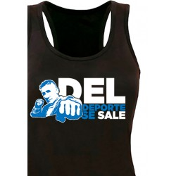 Camiseta Tirantes Del Deporte Se Sale